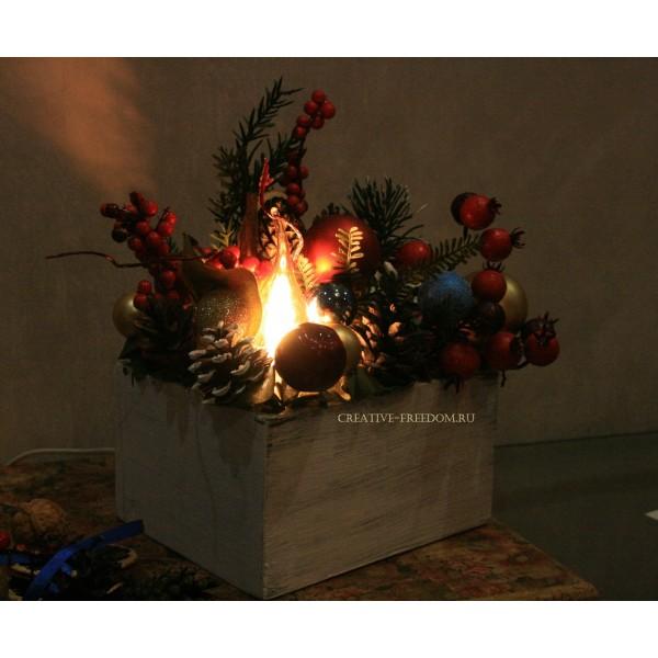Новогодний / Рождественский светильник